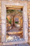 Spinalonga window