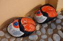 Stone puffins