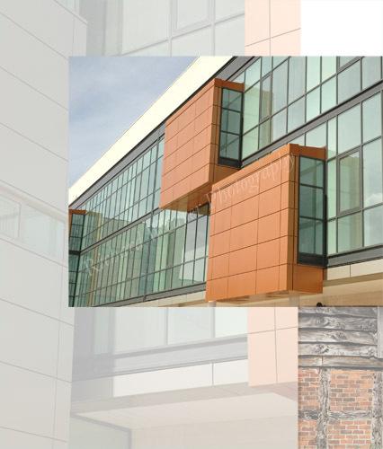 Architectural details - photo montage