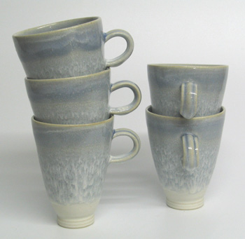 Tall flare mug.
