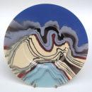 Beach plate. 32cm.