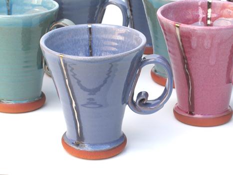 Conical mug.