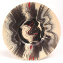 Magma plate. 32cm.