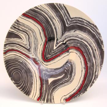 Magma platter. 58cm.