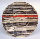 Sedimentary plate. 32cm.