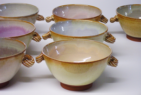 Small bowl with handles