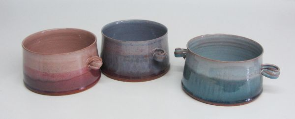 Two handled bowls or dishes