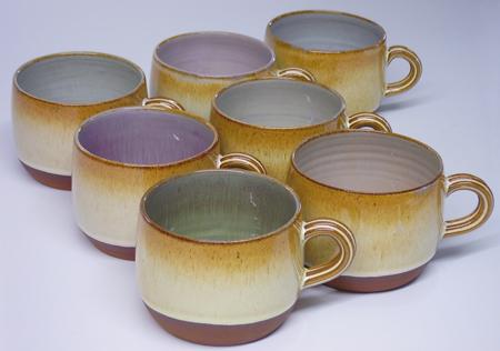 Wide 'bomb' mug