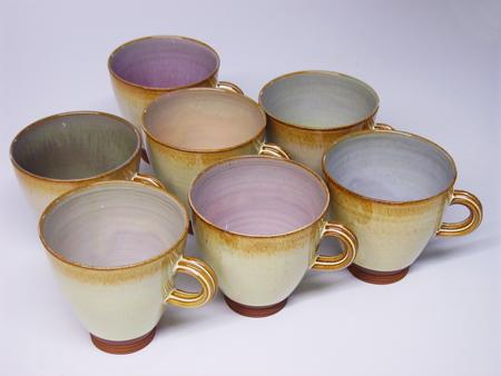 Wide 'flare' mug