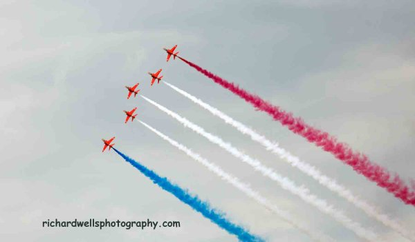 East Fortune Airshow, Red Arrows