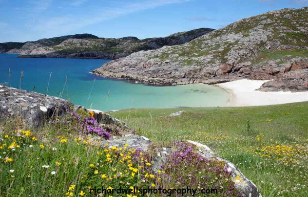 Achmelvich Beach and Machair
