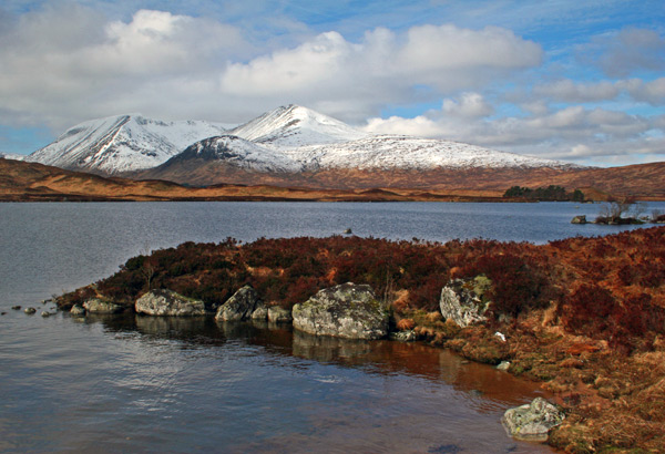 Black Mount from Rannoch Moor