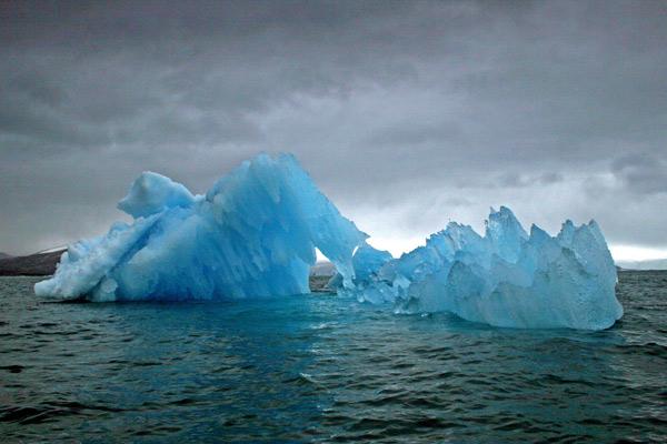 Blue Berg, Napassorsuaq Fjord, Greenland