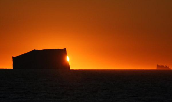Sunrise, East Greenland