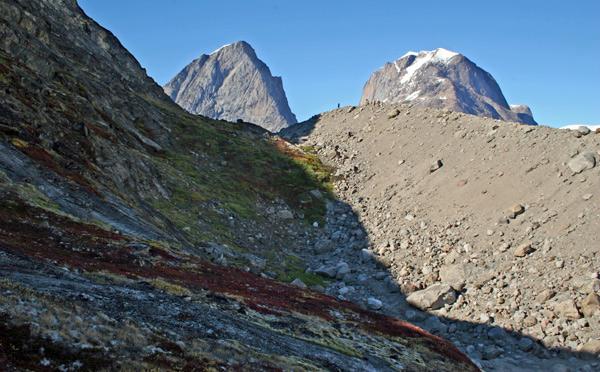 Moraine - Thryms Glacier
