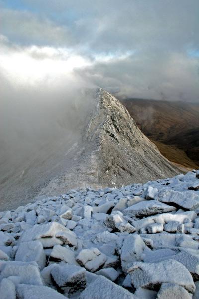 Mamores - Ridge to An Garbhanach