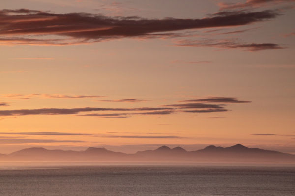 View to Harris from Waternish