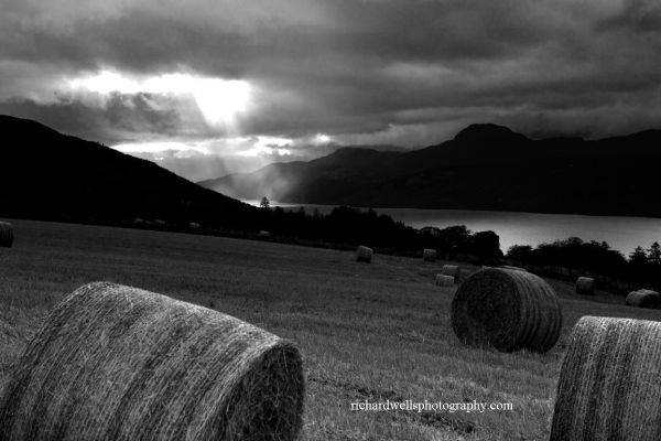 Stormy Skies over Loch Ness.