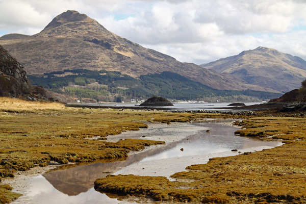 Looking back to Inverie