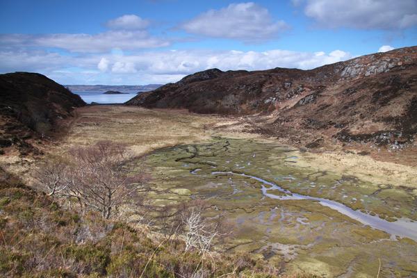 Marsh near Inverie