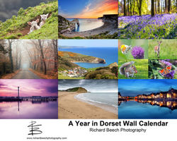 A Year in Dorset 2018 Wall Calendar