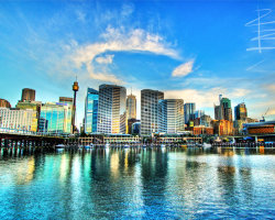 Darling Harbour Halo