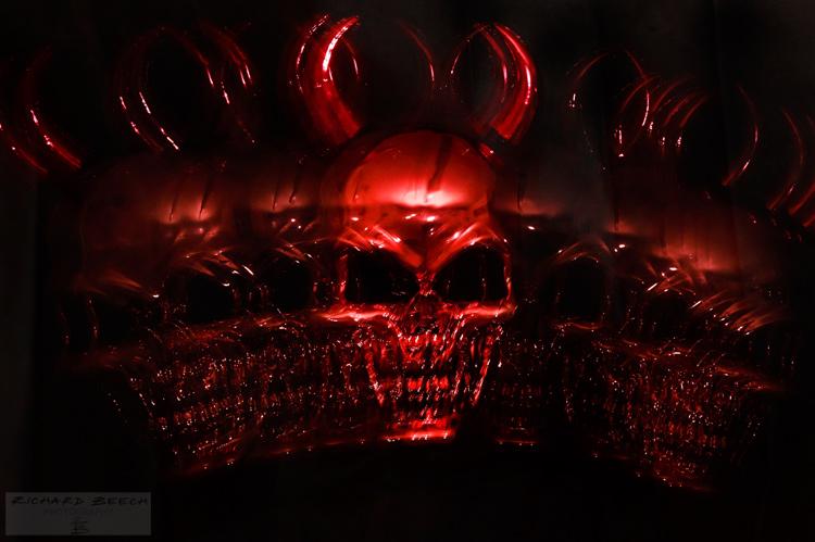 Devil Mask Strobe