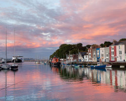 Weymouth Red Skies