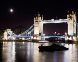 Tower Bridge by Moonlight