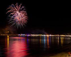 Bonfire Night on Weymouth Beach