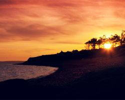 Ringstead Bay Sunset