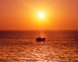 Trawler Sunset