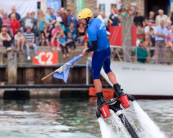 Flyboarding Demonstration at Waterfest 2015 c