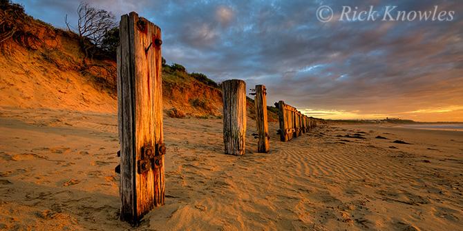 Beach Dawn Light