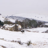 Snow over Wardle farms