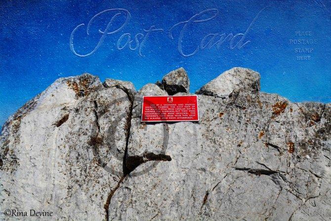 Shepherds path area, Gibraltar Rock