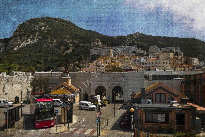 Market Place and Upper Town, Gibraktar