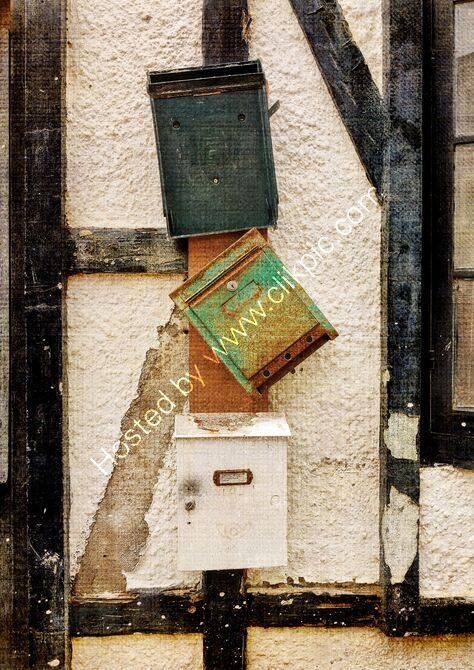 Pickwicks bar, letter boxes