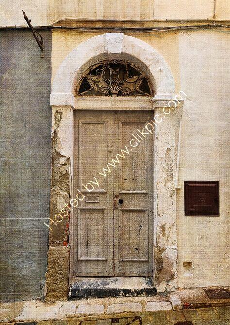 Vintage door, Gibraltar