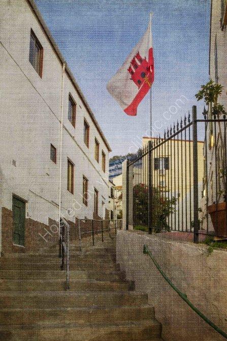 Castle Steps, Gibraltar
