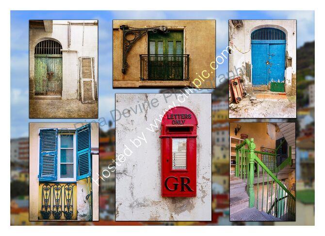 Gibraltar collage