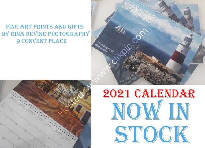2021 Calendar now in stock