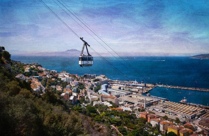 Gibraltar, cable car