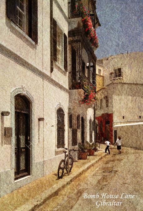 Bomb house Lane, Gibraltar