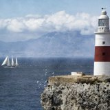 Trinity lighthouse , Europa point, Gibraltar