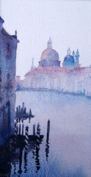 Venice (watercolour) by Heather Powell