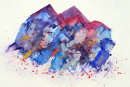 Abstract (watercolour) by Hilary Squires