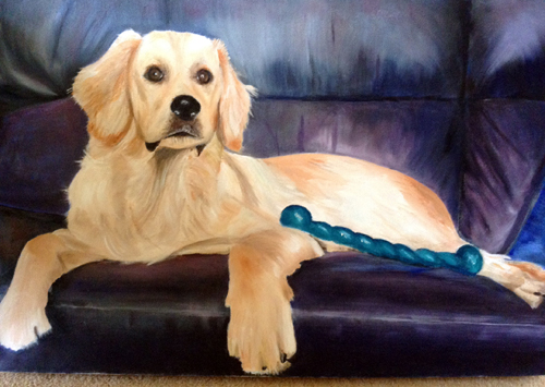 Ozzy (Oil on Canvas) by Joyce Hope