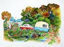 Happy Campers By Linda Birkinshaw