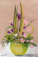 Lifting the Spirits (pastel) by Joyce Miller
